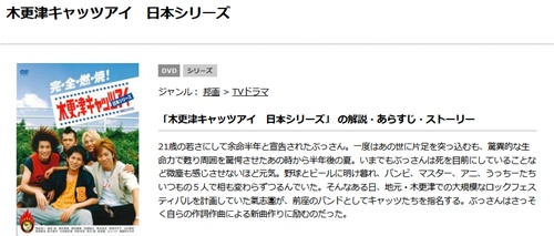 映画 木更津キャッツアイ 日本シリーズの無料動画配信とフル動画の無料視聴まとめ