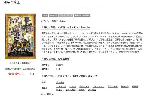映画 翔んで埼玉の無料動画配信とフル動画の無料視聴まとめ