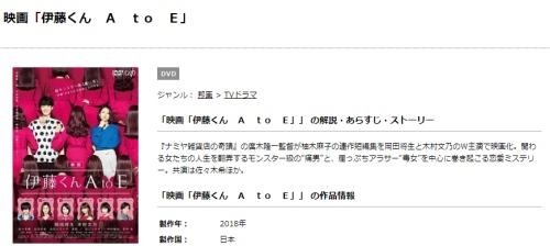 映画 伊藤くん A to Eの無料動画配信とフル動画の無料視聴まとめ