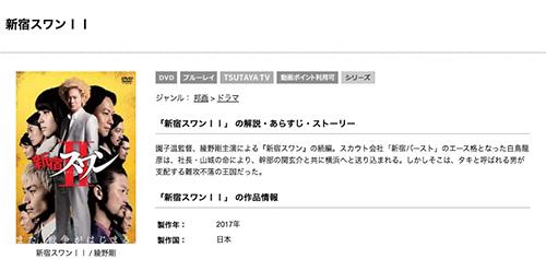 映画 新宿スワン2の無料動画をフル配信で無料視聴