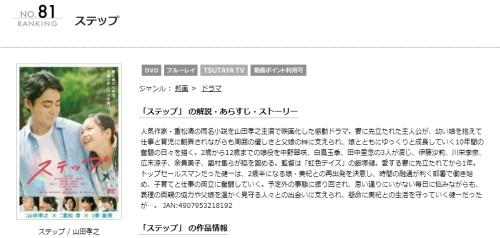 映画 ステップ(山田孝之)の無料動画配信とフル動画の無料視聴まとめ