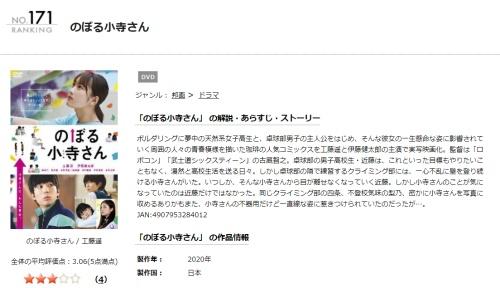 映画 のぼる小寺さんの無料動画をフル配信で無料視聴