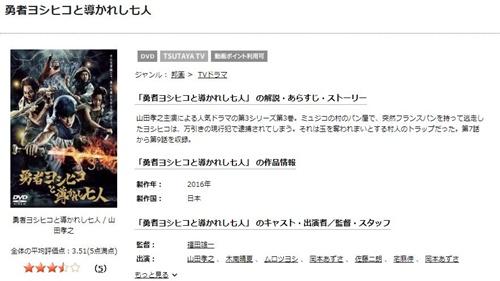ドラマ 勇者ヨシヒコと導かれし七人の1話〜全話無料視聴配信まとめ