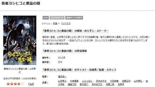 ドラマ 勇者ヨシヒコと悪霊の鍵の1話〜全話無料視聴配信まとめ